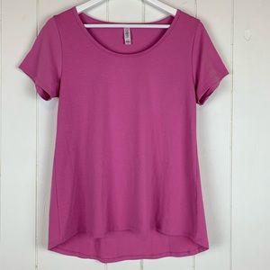 LuLaRoe Classic T Shirt Small Solid Pink